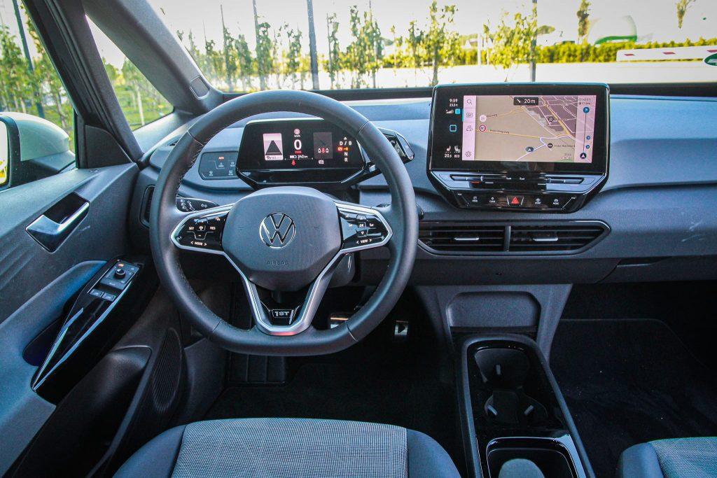Interieur Volkswagen ID3 infotainment