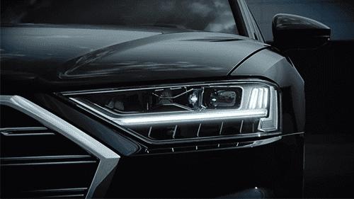 Audi A8 OLED koplampen