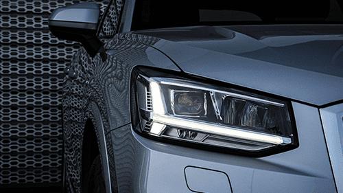 Audi Q2 assistentiesystemen