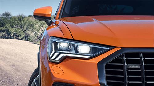 Audi Q3 LED licht