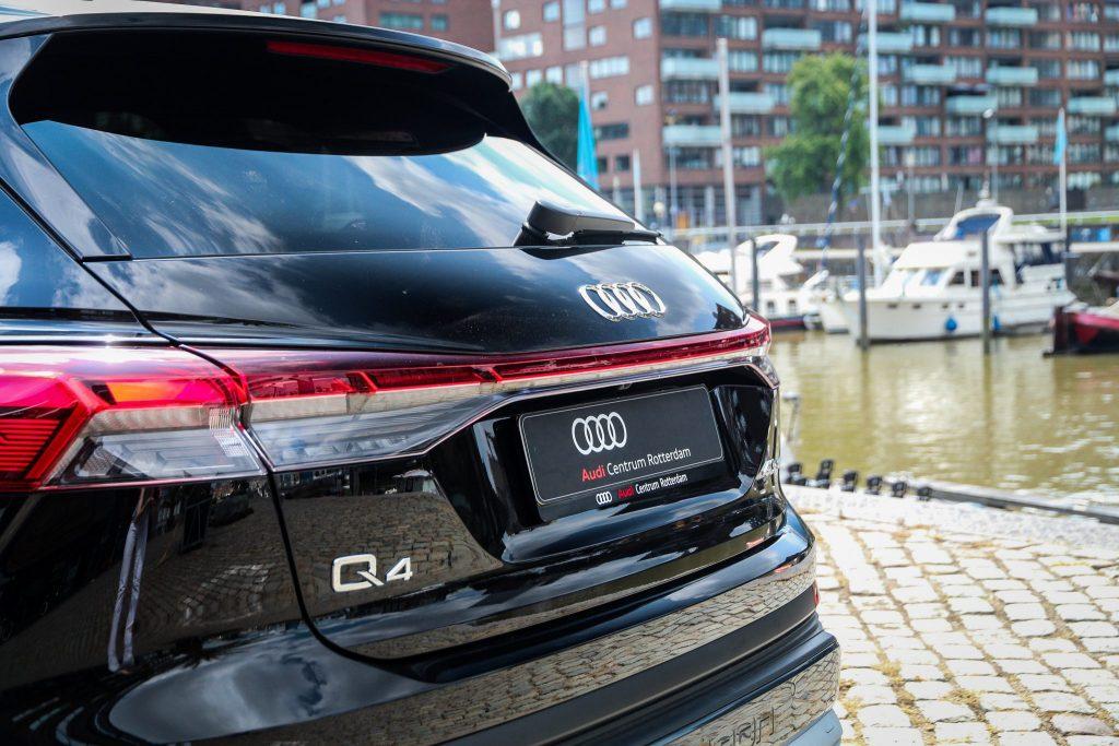 Audi Q4 e-tron Rotterdam LED licht