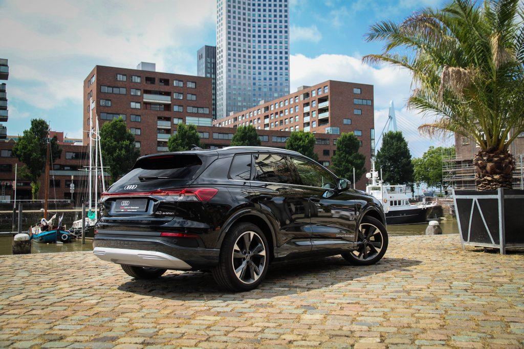 Audi Q4 e-tron elektrisch actieradius