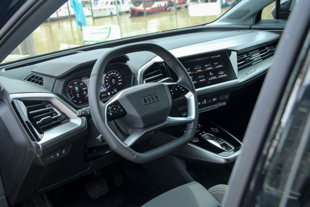 Audi Q4 e-tron interieur infotainment
