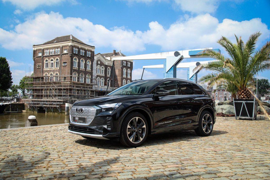 Audi Q4 e-tron prijs Rotterdam