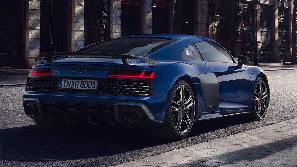 Audi R8 sport pk vermogen