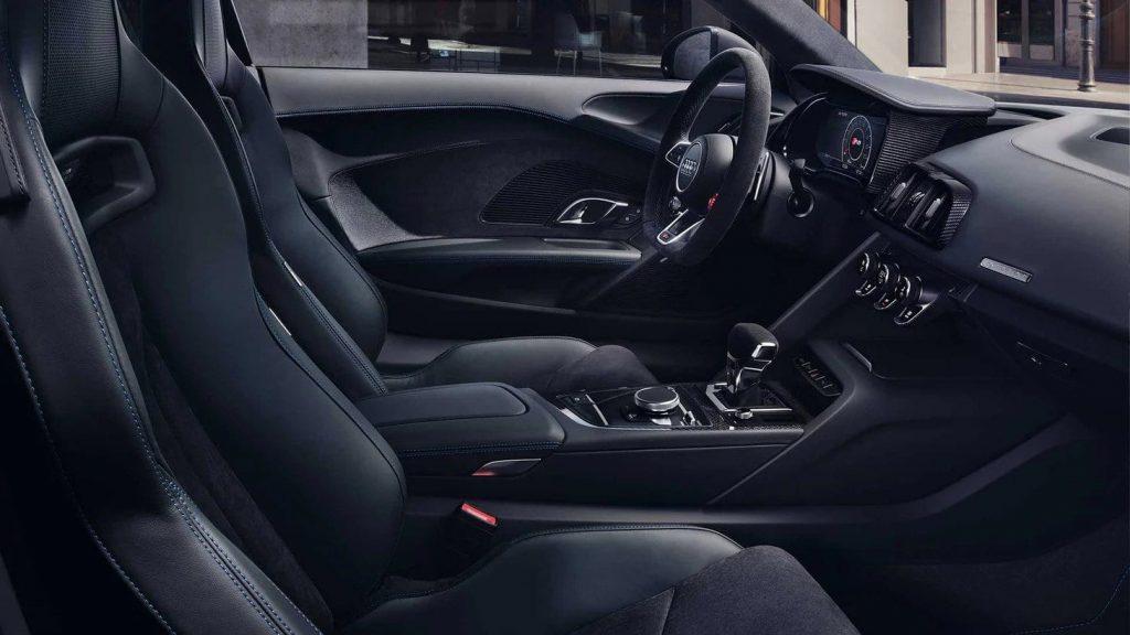 Audi Sport R8 Rotterdam interieur