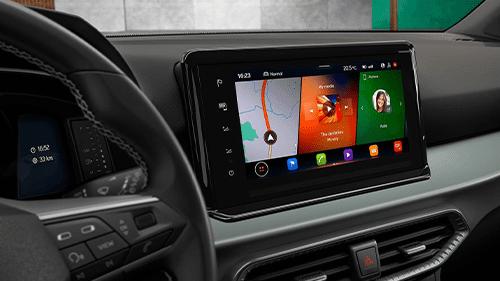 SEAT Arona nieuw interieur infotainment 2021