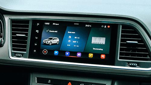SEAT Ateca multimediasysteem scherm