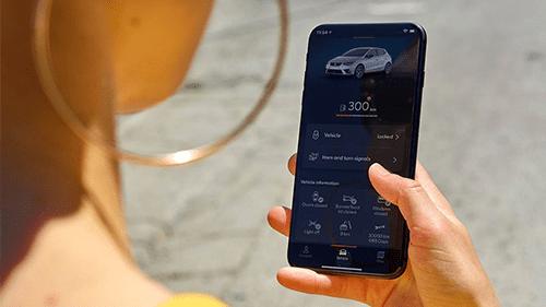 SEAT Ibiza connected verbonden telefoon