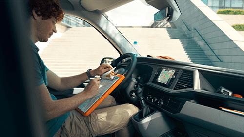Volkswagen Bedrijfswagens transporter ergonomische stoelen
