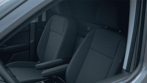 Volkswagen Caddy Cargo ergocomfortstoelen interieur