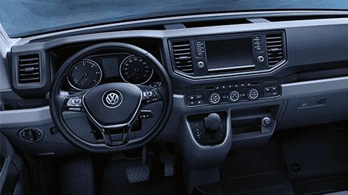 Volkswagen Crafter interieur