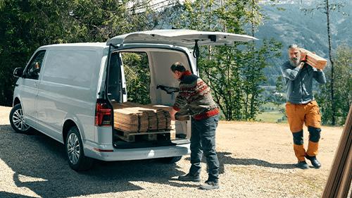 Volkswagen Transporter laadruimte