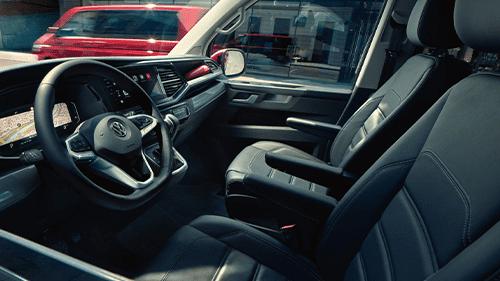 Volkswagen multivan interieur stoelen