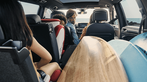 Zitplekken SEAT tarraco 7-zits auto