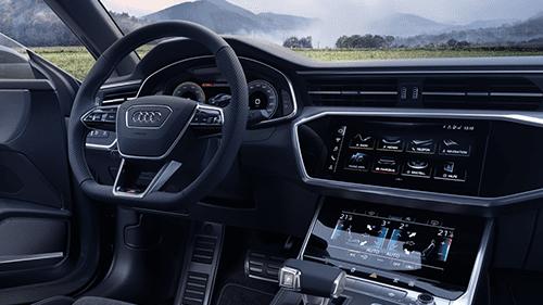 model-highlights-site-audi-a7-cockpit van een nieuw tijdperk