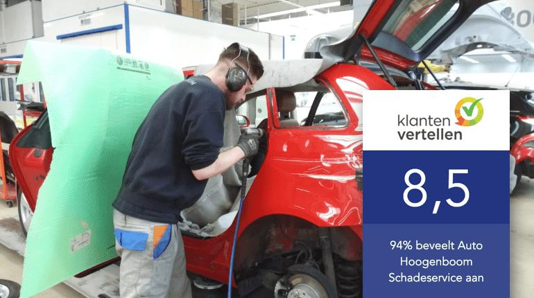 Auto Hoogenboom Schade herstel aanbeveling 8,5