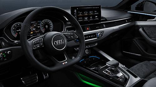Audi A5 Carbriolet digital cockpit