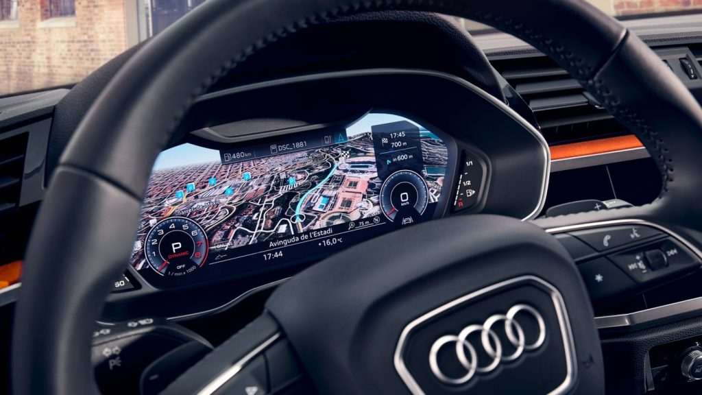 Audi Q3 interieur cockpit Rotterdam