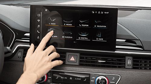 model-highlights-site-a5 mmi touchscreen