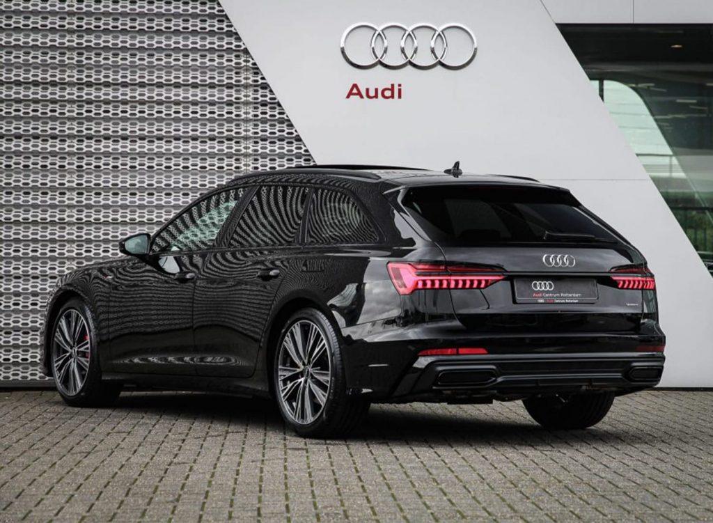 Audi A6 Avant eTFSI plug-in hybride rotterdam