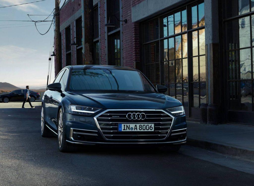 Audi A8 TFSI e quattro plug-in hybride rotterdam