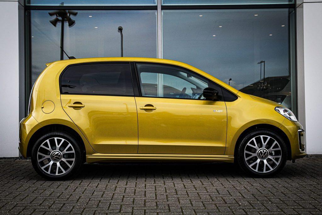 Volkswagen e-up rotterdam elektrisch range