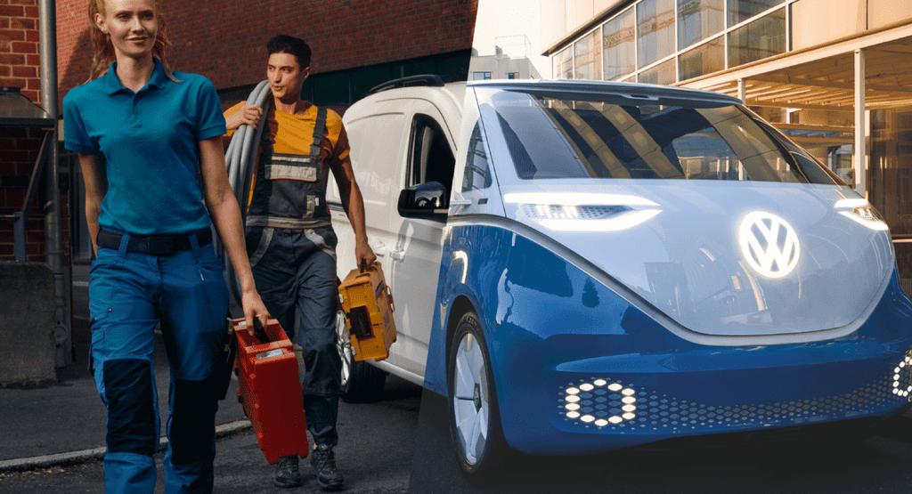 Volkswagen ID.BUZZ switch elektrische bedrijfswagen