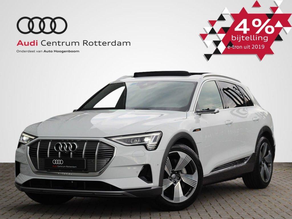 Audi e-tron 4% bijtelling voordeel