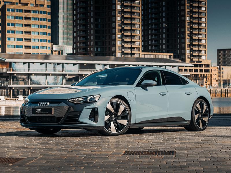 Audi e-tron GT sport elektrisch Rotterdam