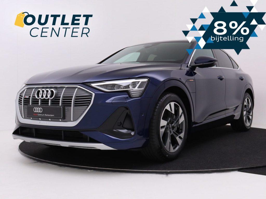 Audi e-tron Sportback 8% bijtelling voordeel outlet