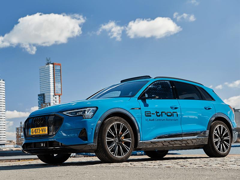 Audi e-tron elektrisch Rotterdam