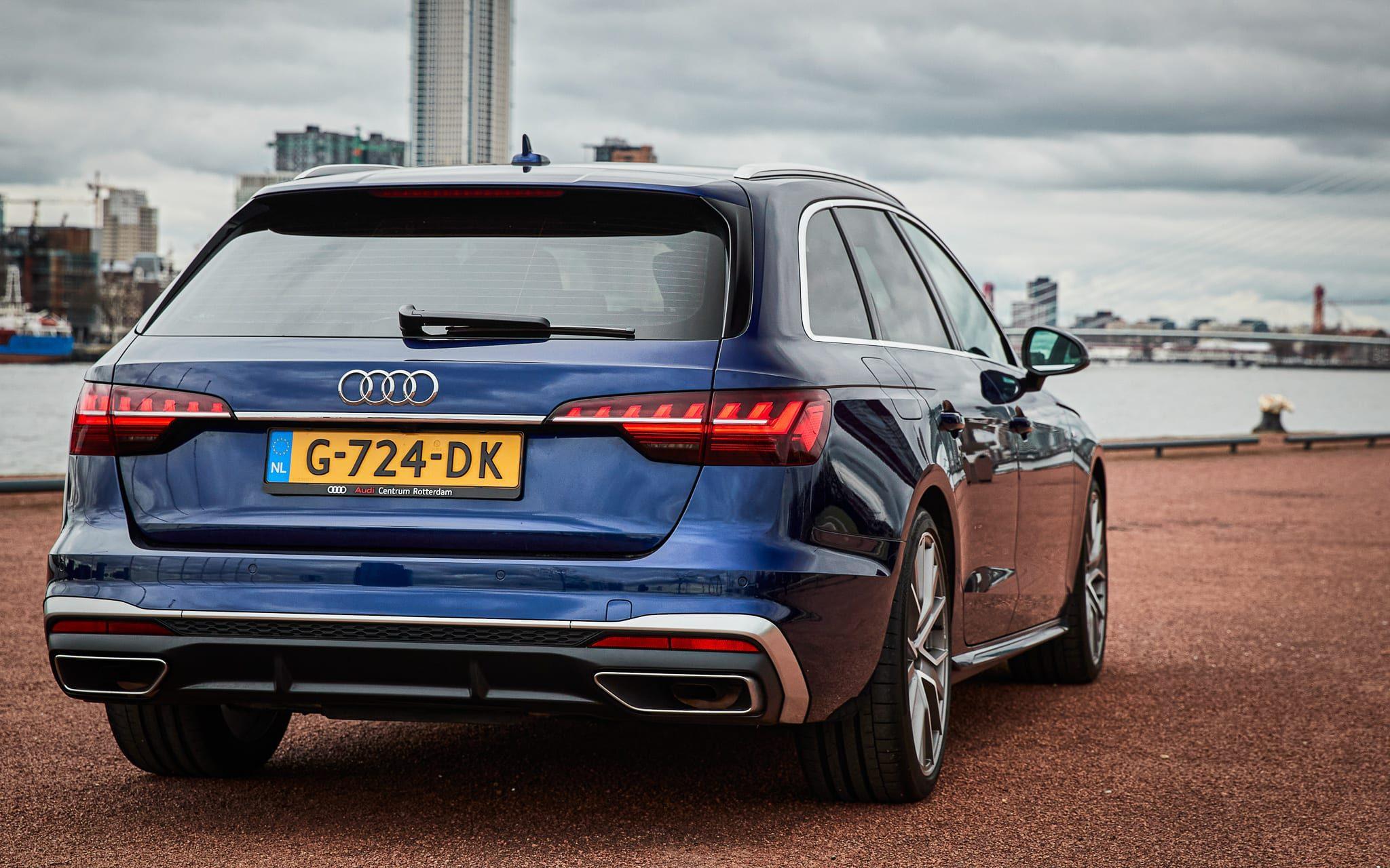 Audi A4 Avant ruimte achterin nieuw