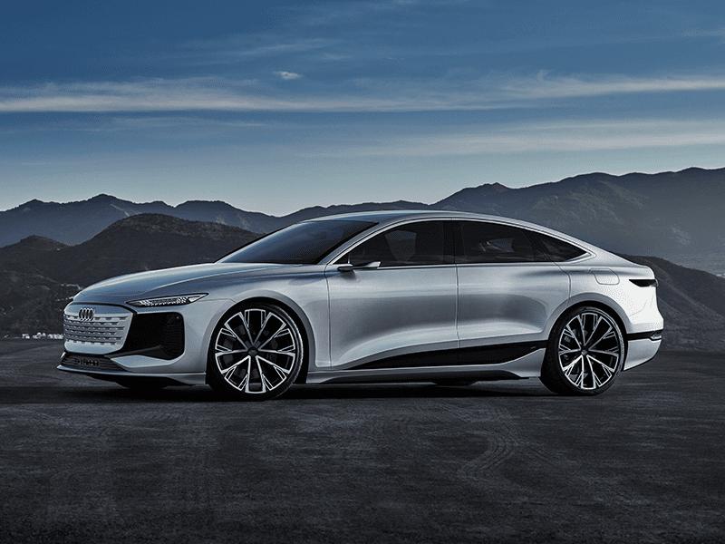 Audi A6 e-tron concept elektrisch