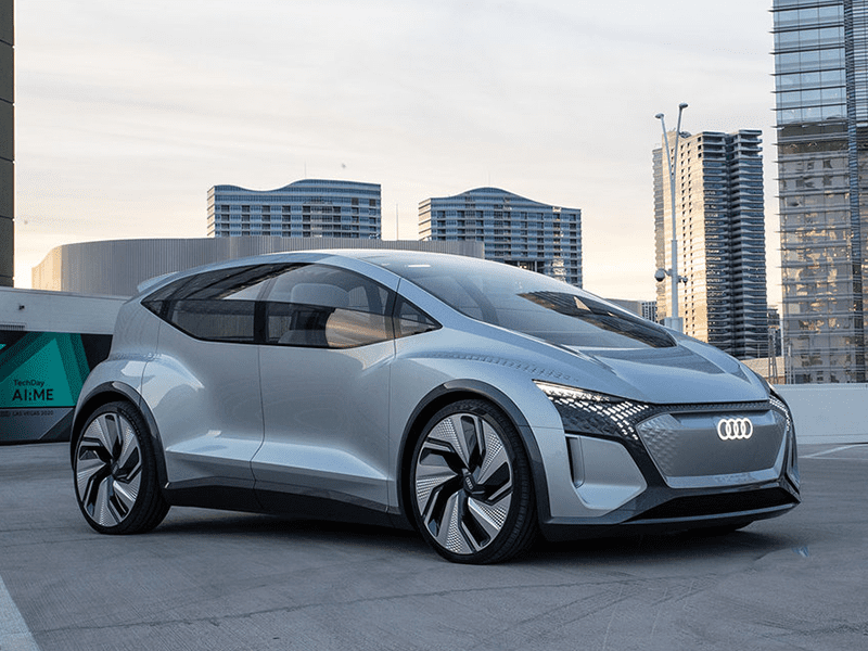 Audi AIME concept car elektrisch autonoom rijden