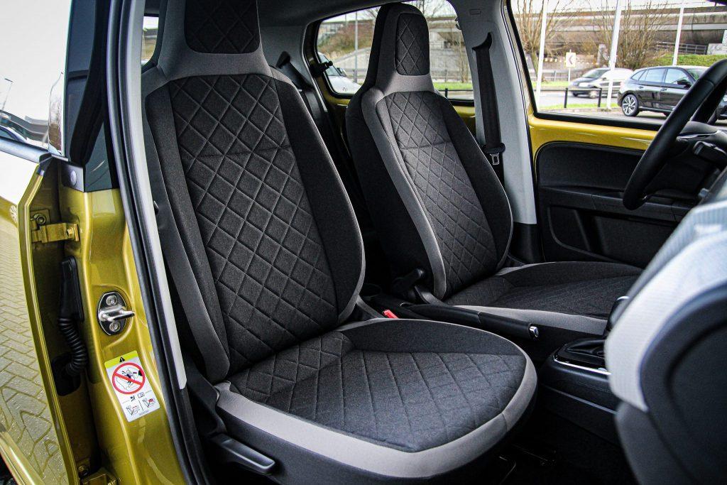 Volkswagen e-Up interieur ruimte actieradius