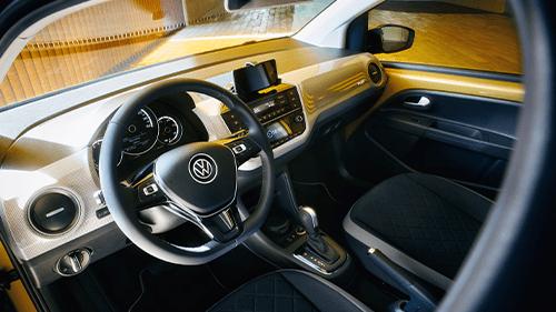 Volkswagen e-Up! verbonden telefoon