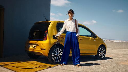 Volkswagen e-Up volledig elektrische auto