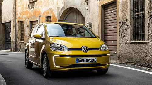 Volkswagen e-up lane Assist