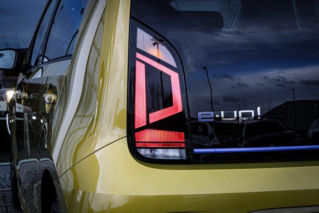 Volkswagen e-up elektrisch prijs