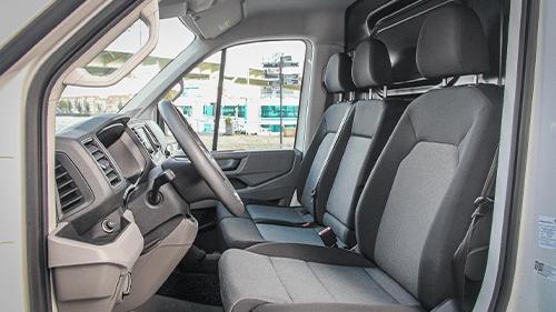 Volkswagen e-Crafter ergonomische stoelen